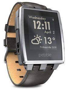 3. Pebble Steel Smartwatch