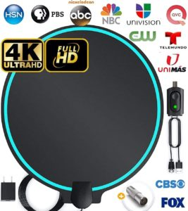 5. DrillTop Indoor Long Range HDTV Antenna