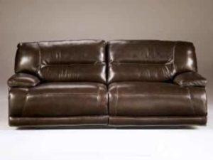5. Exhilaration - Chocolate 2-Seat Reclining Sofa