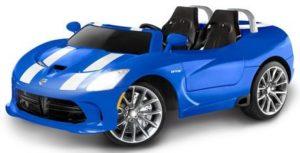 5. Kid Trax Dodge Viper SRT 12V Ride On