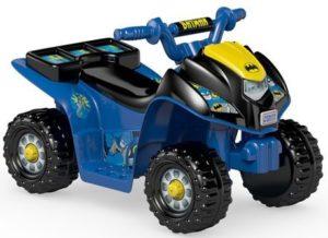 6. Fisher-Price Power Wheels Batman Lil' Quad