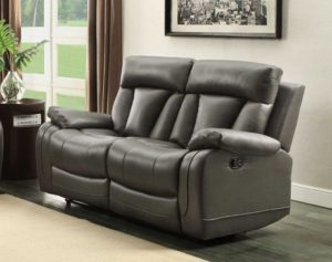 6. Homelegance 8500GRY -2 Seat Reclining Sofa