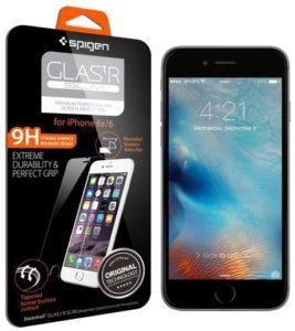 6. Spigen iPhone 6S Screen Protector Glass.tR