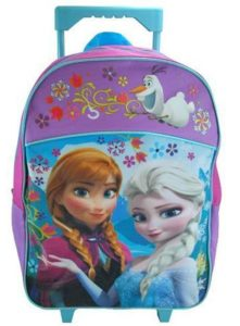 7. Disney Officially Licensed Frozen Rolling Backpack