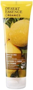 8. Desert Essence Organics Lemon Tea Tree Shampoo