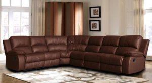 8. Divano Roma Reclining Corner Sectional Sofa