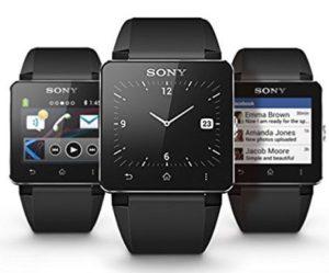 8. Sony Smart Watch SW2