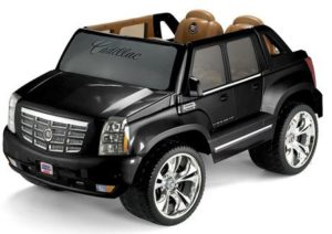 9. Fisher-Price Power Wheels Cadillac Escalade
