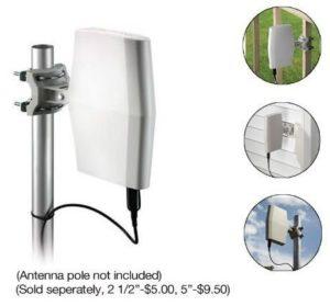 9. Philips SDV8622T27 IndoorOutdoor Digital TV Antenna