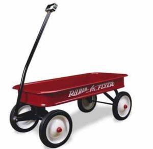1. Radio Flyer Classic Red Wagon