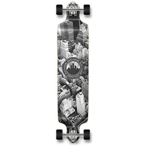 1. Yocaher Professional Speed Drop Down Stained Complete Longboard