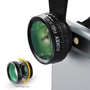 10. Aukey 3 in 1 Clip-on iPhone Lens