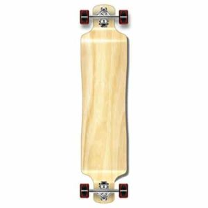 10. Punked Lowrider Drop down through Longboard Complete Skateboard