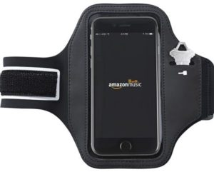 2. AmazonBasics Running Armband for iPhone 6S