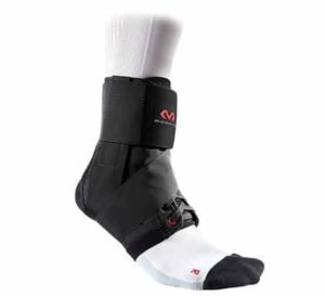 2. McDavid 195 Deluxe Ankle Brace with Strap