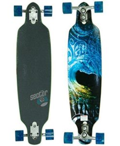 2. Sector 9 Aperture Sidewinder Drop Through Downhill Cruiser Freeride Complete Longboard