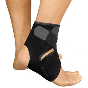 3. Bracoo Breathable Neoprene Ankle Support