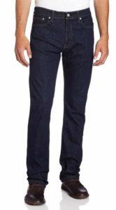 3. Levi's Men's 513 Slim Straight Jean