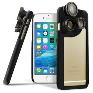3. OPTIKAL iPhone 6S 4-in-1 Lens Kit