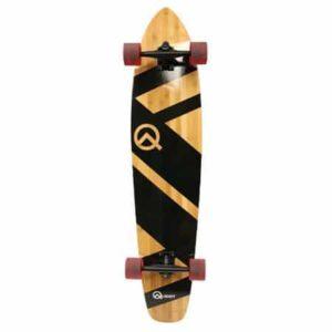 3. Quest Super Cruiser Artisan Bamboo Longboard Skateboard