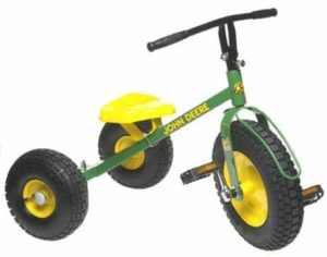 4. John Deere Mighty Trike