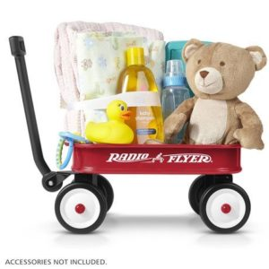 4. Radio Flyer Little Red Toy Wagon