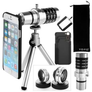 4. Yopo Camera Lens Kit for iPhone 6S Plus