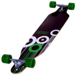 6. Atom Drop Through Longboard