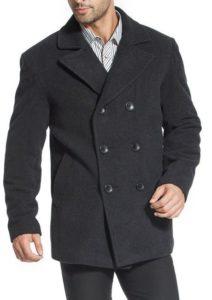 6. BGSD Men's Wool Pea Coat