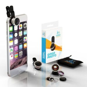 6. GoGo Robots iPhone Camera Lens Kit