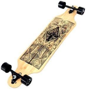 7. Atom Longboards Bamboo Drop Through Longboard
