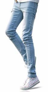 7. Demon&Hunter YOUTH Series Men's Skinny Slim Jeans