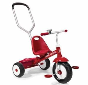 8. Radio Flyer Radio Flyer Deluxe Steer and Stroll Trike
