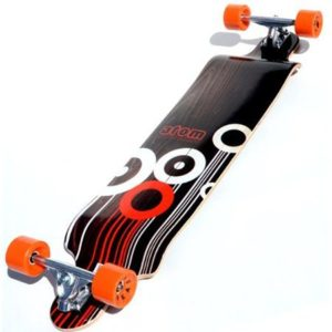 9. Atom Drop Deck Longboard