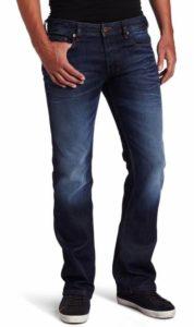 9. Diesel Men's Zatiny 0073N Regular Bootcut Jean
