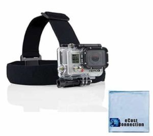 10. eCostConnection Head Strap Mount For GoPro