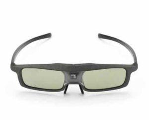 2. SainSonic Rainbow Series Black 3D Active Glasses