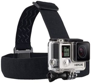 3. GoPro Headstrap Mount And Quick Clip