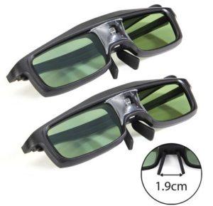 4. GMYLE 144Hz 3D Glasses