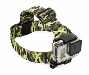 8. Grapevine Head Strap Mount For GoPro Cameras