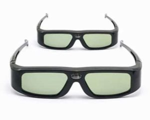 9. SainSonic SSZ-200DLB 144Hz 3D Infrared Active Rechargeable Shutter Glasses