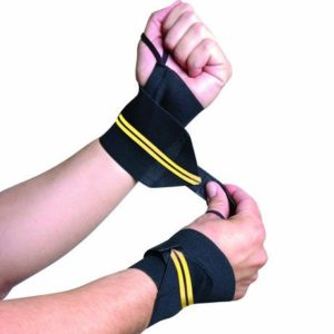 5. CAP Barbell Wrist Wrap with Thumb Loop