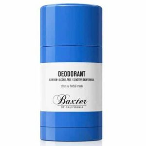 1. Baxter of California Citrus and Herbal-Musk Deodorant