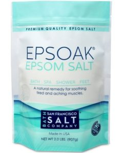1. Epsoak Epsom Salt 2 Lbs
