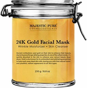 1. Majestic Pure Gold Facial Mask