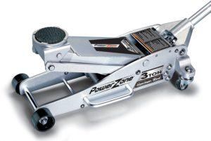 1. Powerzone 380044 3 Ton Aluminum and Steel Garage Jack