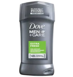 10. Dove Men+Care Antiperspirant & Deodorant