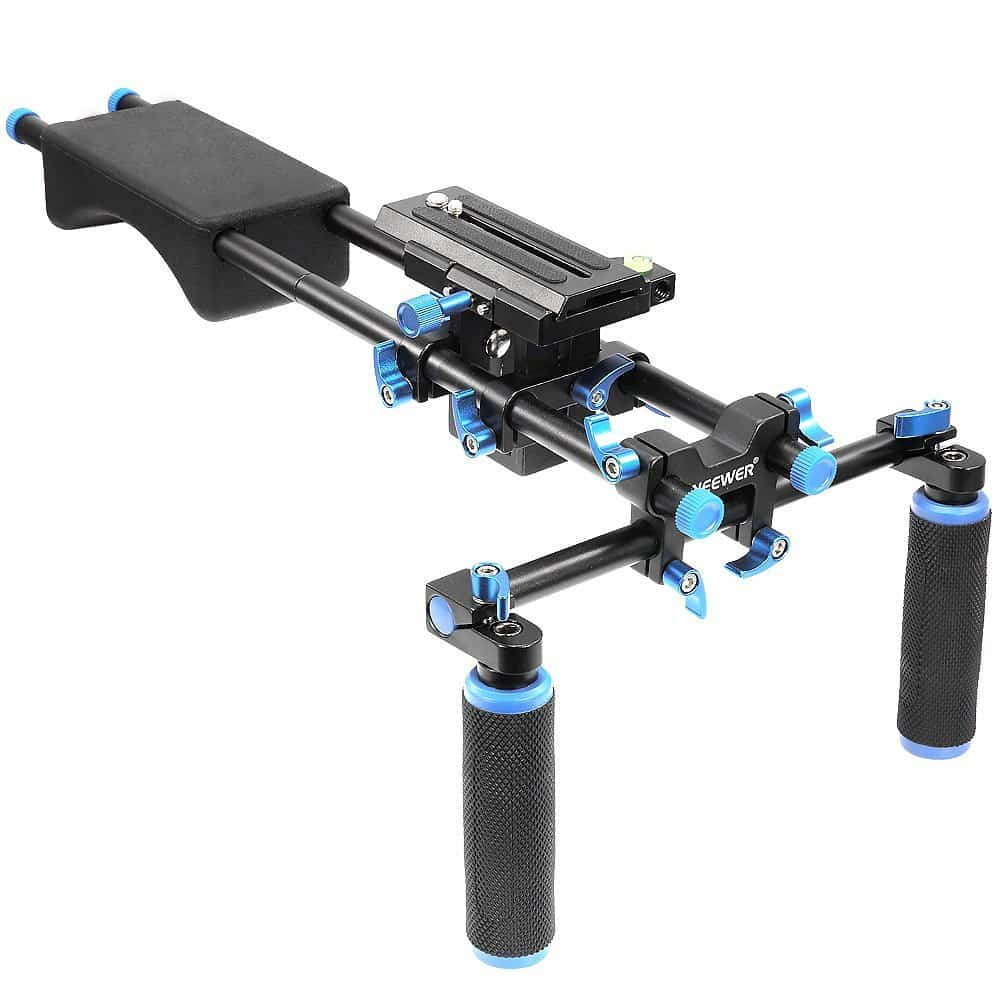 Neewer 32 inches//80 cm Camera Track Slider Film Video Rail Smooth Footage Pro