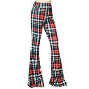 10. SMT Women's High Waist Wide Leg Long Palazzo Bell Bottom Yoga Pants