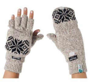 2. Eforcase Women's Crochet Long Fingerless Gloves